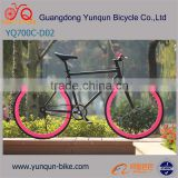 Free color and ISO gained 700C fixed gear bike /Wholesale Price Track Bike/ guangdong factory fixie gear bicycle