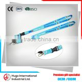 High quality Eco-friendly promotional/employee single custom bluk card holder lanyard                                                                                                         Supplier's Choice