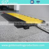 5 Channel cable cover, cable ramp for event cable protection