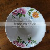 porcelain salad bowl with round edge,newest designs ceramic bowl,wholesale cheap good ceramic bowl
