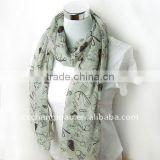 ladies polyester voile scarves