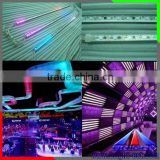 Digital LED Tube Type 360degree 3D effect in Night club ,Bar dmx meteor shower led light