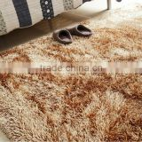 polyester floor Carpet shaggy room mat rugs