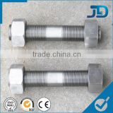 stainless steel double thread screw