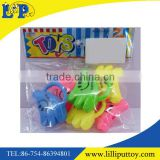 Newest design cute cartoon banana whistle for kids