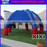 XIXI Backyard Blue Shade Tents Advertising Inflatable Spider Legs Tent