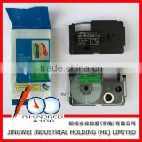 XR-9GN1 black on green 9mm for label printer KL-60, KL-780 compatible casio tape cartridge
