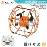 Bricstar new stunt ball rc helicopter mini toy, rc helicopter toys with lights                                                                         Quality Choice