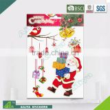BSCI factory audit Christmas 3D Eco-friendly decorative removable bedroom wall decals