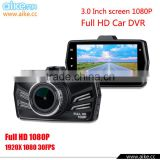 2016 New HD 1080P 170 degree Vehicle Car Camera Video Recorder Dash Cam DVR G sensor HDMI with 3.0 TFT LCD