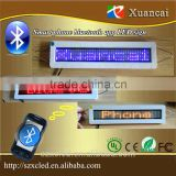 New! Android smart phone bluetooth communication edit/calling led bluetooth programable dislay signs