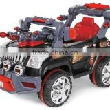 Powerful children motor cars 12v battery ride on cars 821 with music,front working lights