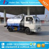 5 CBM 4*2 DONGFENG Fecal suction truck for sale