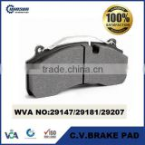 29147 29181 29207 heavy duty disc brake pad for Volvo Renault GIGANT