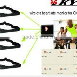 KYTO fitness gym training equipment heart rate monitor strap/sport pulse monitor with USB