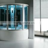 FC-102 infared sauna steam room square tempered glass steam room a6150b/a6170b shower cabins sale