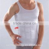 men's Slim Singlet Belly Underwear brand burning fat tank top body shaper belt                                                                         Quality Choice