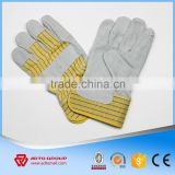 Hot-selling Half Leather Glove,Cow Split Leather Glove,Factory supply Leather working Gloves