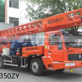 BZC350ZY truck mounted drilling rig rough terrain drilling