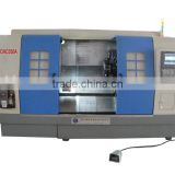 CNC250A double spindle five axis cnc lathe with automatic feeding