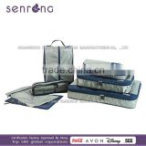 custom all kinds of packing cubes/Travel Cube Organizer leaves king trolley travel bag
