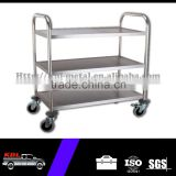 Stainless Steel Food Serving Cart/Tool Trolley Cart with Three Layers(STC-850-3)(ODM/OEM)