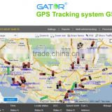 Stable & fast response GPS tracking system web-based GPS software platform GS102 for car management