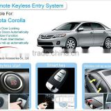 Push Button Start/Stop and Remote Control Central Locking System for Toyota Corolla