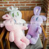 Plush Rabbit Backpack With Coral Fleece Blanket/ Cute Plush Rabbit Backpack With Coral Fleece Blanket