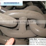 Welded Steel Black Stud Link Anchor Chain