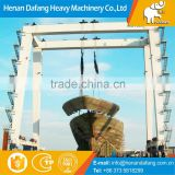 Heavy Duty Movable Cabin Control Electric Double Girder 300ton Shipbuilding Gantry Crane Used for Ship Building