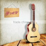 Solid spruce Body Material and Ebony, Sapele Fingerboard Material Hot sale electric guitar