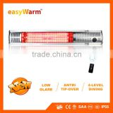 2000W Electric Patio Outdoor Heater With Remote Control