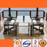 HL6065 Hotsale cheap dining tables for sale chairs for restaurant cafe bar open led sign garden furniture Made inChina