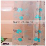 2015 Eco-friendly China new design custom printing shower curtain bathroom shower curtain PEVA bath curtain factory