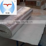 Steel Wire or Glass Fiber Reinforced Refractory Fabric Ceramic Fiber Tape/Cloth with Aluminium Foil.