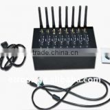 8 ports GSM/GPRS modem pool to send sms in bulk,wavecom Q2406B module,USB interface, dualband(900/1800mhz)
