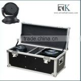RK HOT SALE , 1 hold 2 lights ,Led street moving head lighting road ready flight case