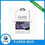 Alibaba Hot Sale Cell Phone Tempered Glass Screen Protector Packaging Box