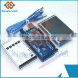 "3.2"" TFT LCD Touch + TFT 3.2 inch Shield + Mega 2560 R3 with usb cable for Arduino kit"