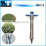 Hand held vegetable tobacco transplanter seedling transplanter