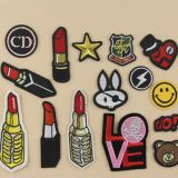 Women fashion clothing custom patch work neck designs