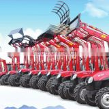 hot sale top quality tractor use hydraulic operating front end loader with CE cetification