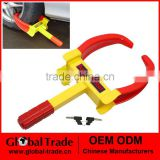 7 to 11 Inch Wheel Clamp (Middle-Duty) Heavy Duty Key Lock Security Car Van Caravan Trailer Wheel Clamp Lock A1972