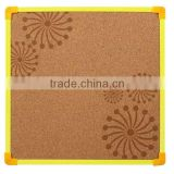 Quality wholesale decorative framed printed cork board