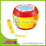 Baby early educational baby play electric toy musical drum set