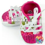 Newest Design Unique Shoes For Baby Sequin Cute Funny Baby Shoes Flower Pattern Baby Crib Shoes Wholesale In Yiwu Alibaba