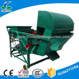 With multiple dust outlet seasame seed washing machine