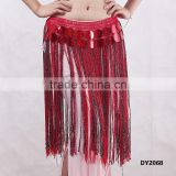 Egyptian sequin belly dance hip scarf belly dance fringe belts belly dancing scarf with tassels