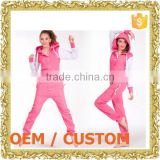 OEM / ODM zipper up one piece jumper dress jumper suit fleece romper ladies african print jumpsuits